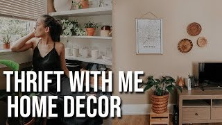 THRIFT WITH ME IN ATLANTA + Boho Home Decor Haul