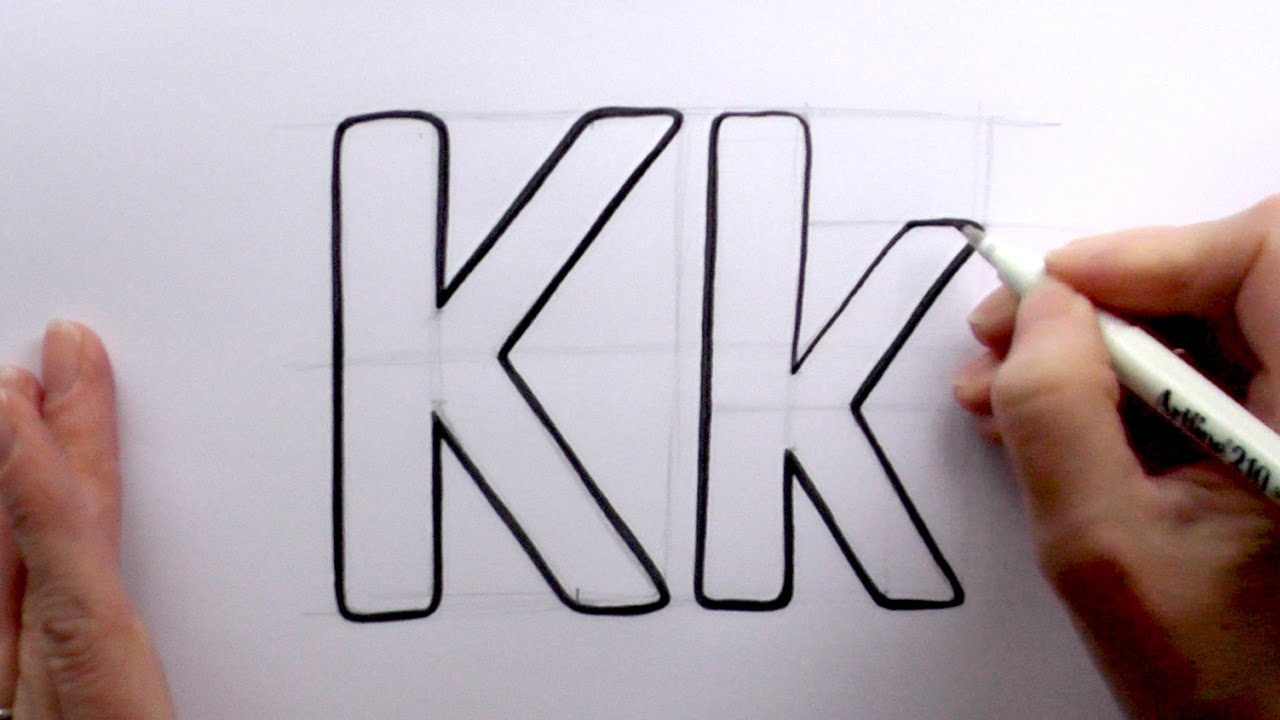 how to draw wanted letters