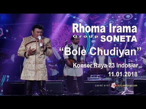 "Joget India RAJANYA DANGDUT Rhoma Irama - ""Bole Chudiyan"" LIVE di JCC"