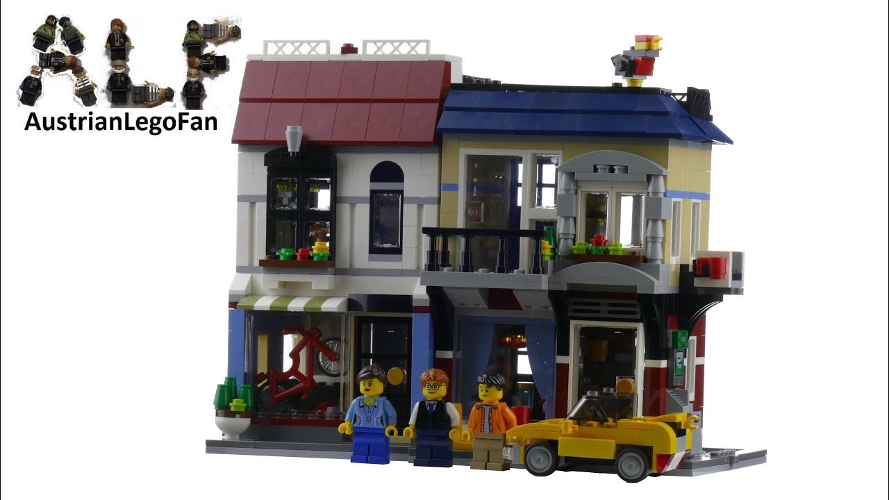 Lego Creator Bike Shop And Cafe Review