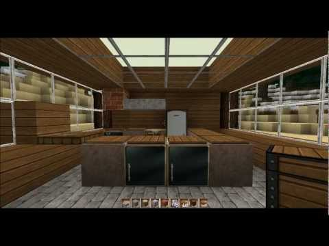 minecraft k che anleitung bautipp 2 youtube. Black Bedroom Furniture Sets. Home Design Ideas
