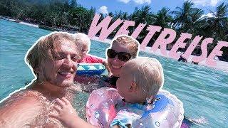 Jungle-Trail zum Traumstrand!! Thailand, Koh Phangan, Bottle Beach | Scherzingers Videos #145