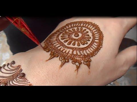 Full Video Easy Simple Mehndi Design Cute Henna Mehendi For Hand