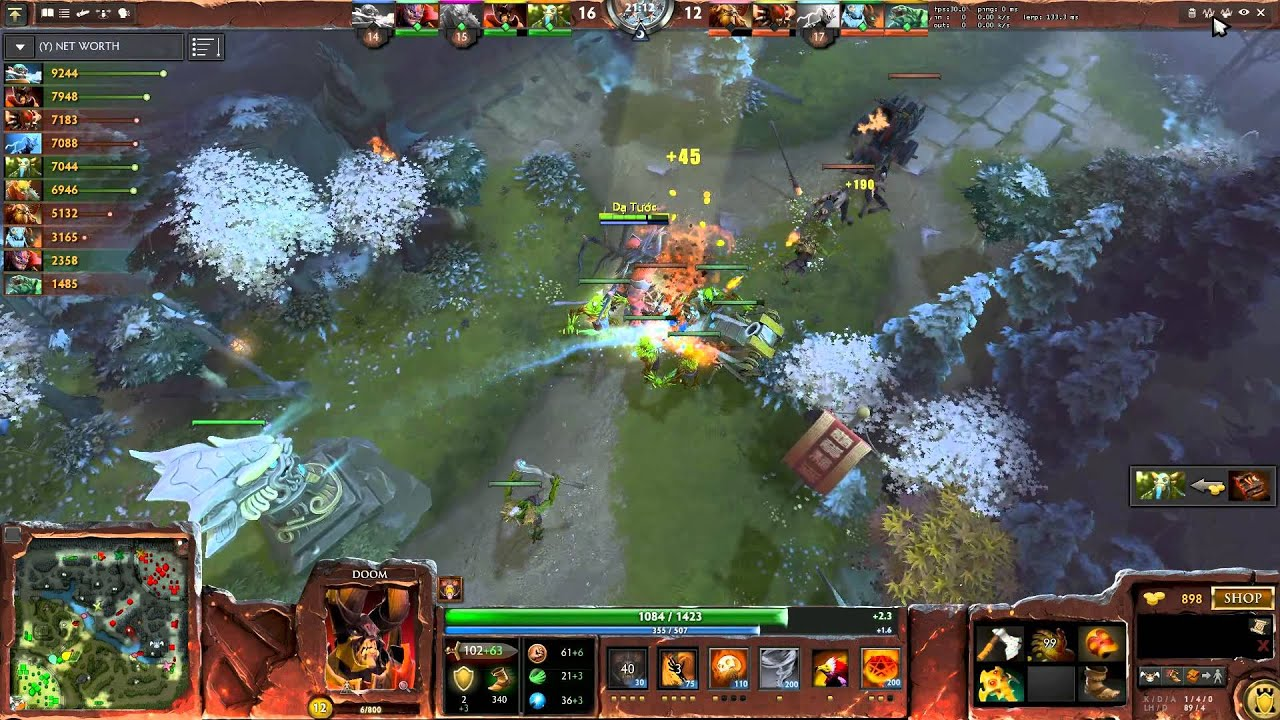 Dota 2 Esport Apu Vn Cm Mode 02 02 2014 Youtube