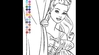 Free Barbie Coloring Pages For Kids - Barbie Coloring Pages