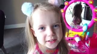 Ruby Pretend Play with Barbie Toys