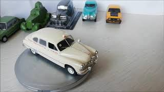 Scale model 1:43 ambulance GAZ 12B ZIM by DeAgostini ГАЗ 12Б ЗИМ Скорая помощь