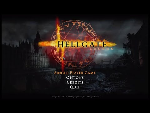 Hellgate London [ PC ] - Intro & Gameplay ( + Character Creation )