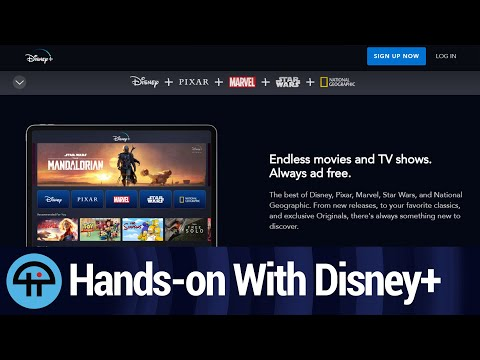 Hands-on With Disney+