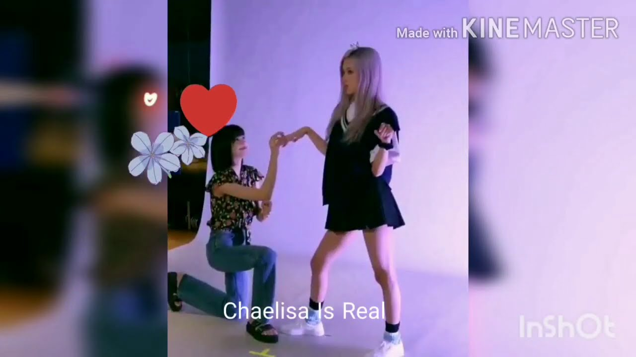 Chaelisa Is Real  😘😍 (Blackpink) 200808 💙💛