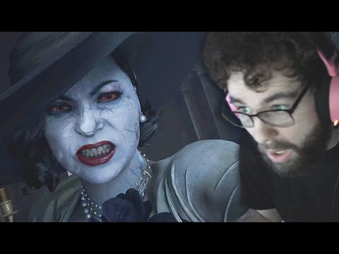 THE TALL LADY IS NOT HAPPY WITH ME (RESIDENT EVIL VILLAGE PART 3)