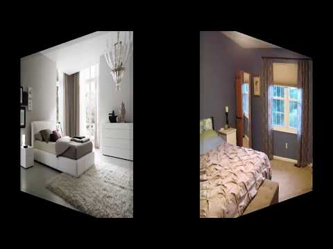 moderne schlafzimmer vorhänge