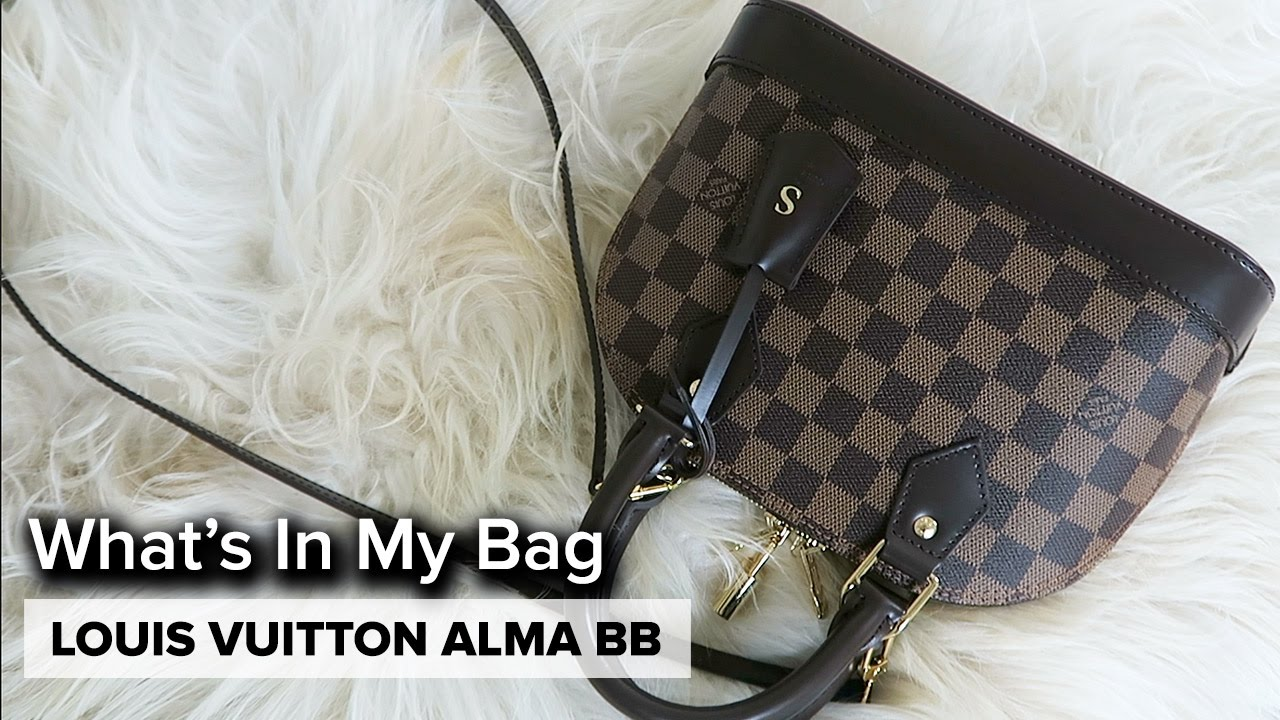 LOUIS VUITTON ALMA BB  cb13e8d316b01