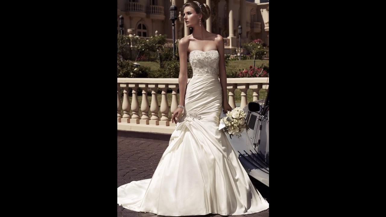 d948431dca Casablanca vestidos de novia sencillos y baratos - YouTube