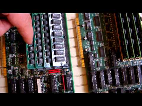 Comparason daughterboard AST  Computer PREMIUM 486 V 386 Premium range.