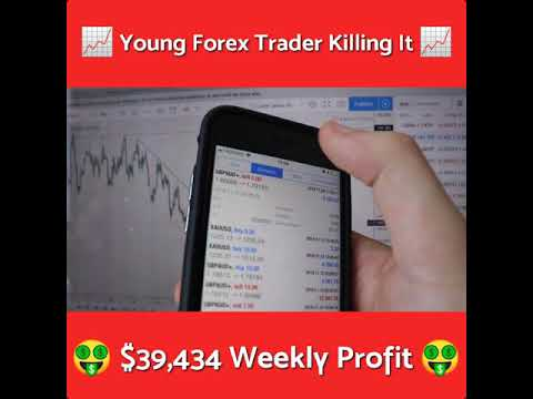 Young Forex Trader Killing It - $39,434 Weekly Fx Profit | Forex Day Trading | Forex Signals Review