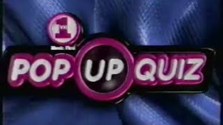 VH1 - Pop-Up Quiz - 2000