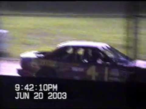 Lafayette County Speedway 4 cyls  June 20, 2003