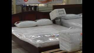 видео Для эксклюзивных кроватей – нестандартные матрасы