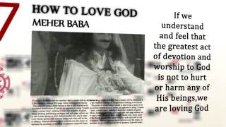 How To Love God by Meher Baba