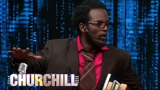 Professor Hamo on Churchill Show