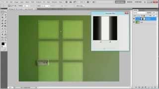 How to create a casting light from window in Photoshop