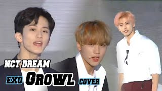[Korean Music Wave]  NCT DREAM - Growl, 엔시티 드림 - 으르렁(EXO Cover), DMC Festival 2018