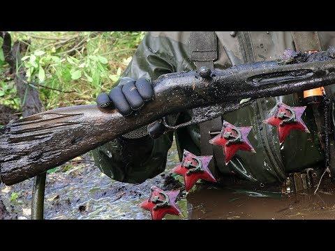Пропавшие в болоте вместе с оружием защитники ленинграда \\ s.