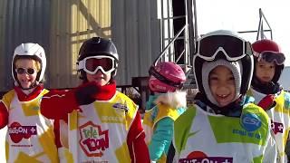 Les enfants apprennent le ski dès 2 ans 1/2 à l'Ecole de Ski Buissonnière