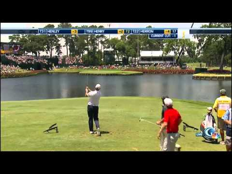 38 swings at the 17th hole at TPC Sawgrass during the Players