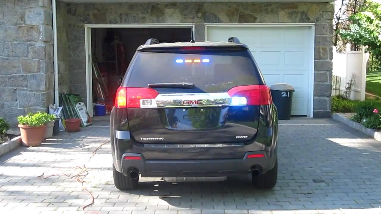 2011 GMC Terrain - Rear Emergency Warning Lighting #2 ...