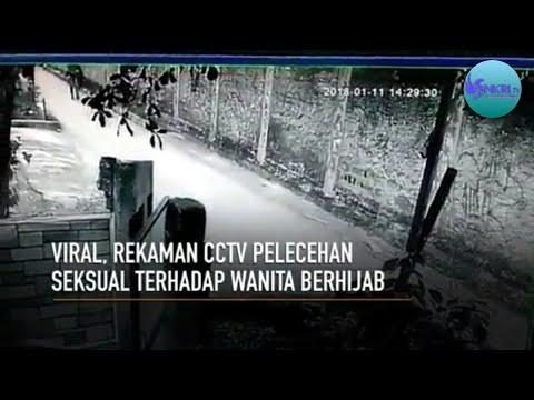 VIRAL!! PELECEHAN SEKSUAL TERHADAP WANITA BERHIJAB TEREKAM CCTV