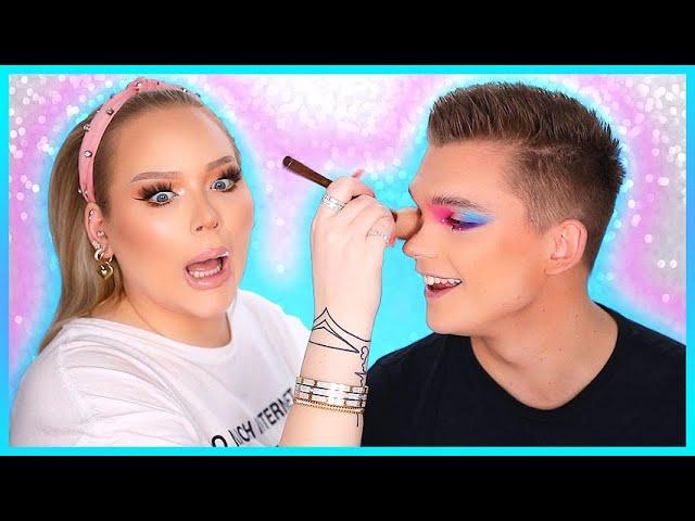 Doing My FIANCE'S Makeup! | NikkieTutorials