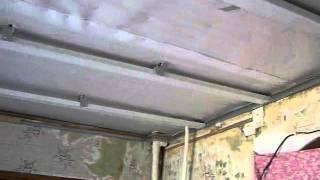 панели пвх на потолок.wmv(как я смонтировал подвесной потолок., 2012-05-20T17:06:34.000Z)