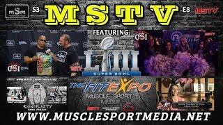 Shawn Ray / Rams Cheerleaders / Super Bowl Party - MSTV