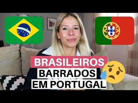 BRASILEIROS BARRADOS EM PORTUGAL