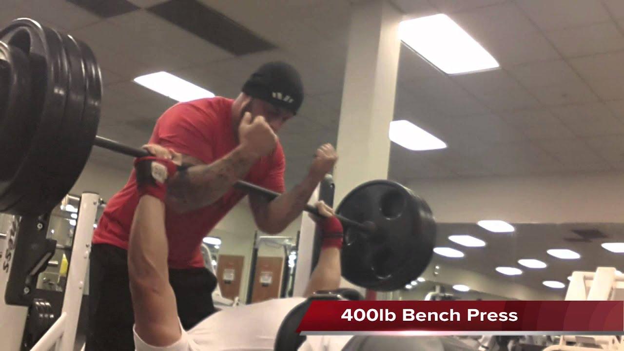 400 Lb Bench Press Club Part - 18: 400lb Raw Bench Press