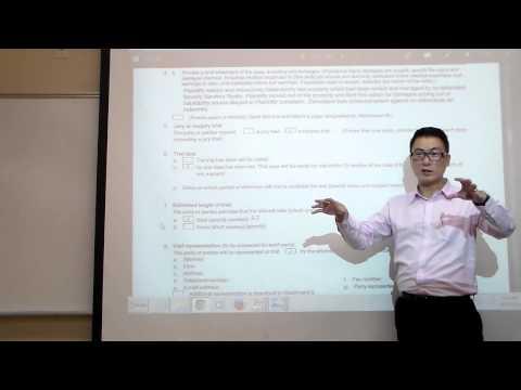 Class 04 Civil Procedure and ADR - 9/11/2014