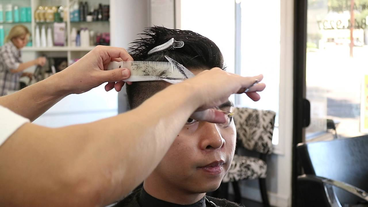 Menu0027s Haircut Tutorial #2 | Spiky Comb Over   YouTube