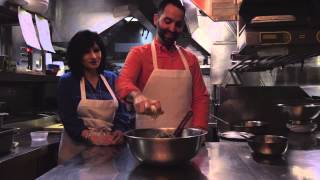 People Cooking Things: How To Make Meatballs, With Mario And Maria Carbone