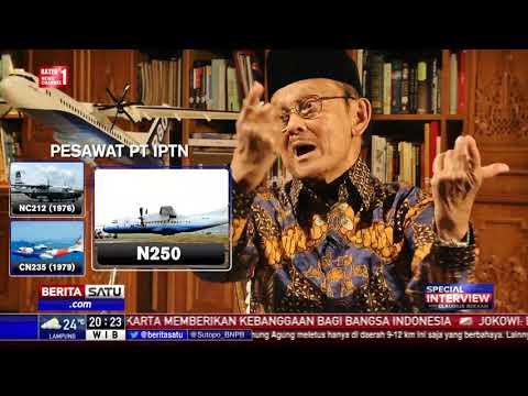 Special Interview BJ Habibie: Jokowi, Pesawat R80, dan My Way #2