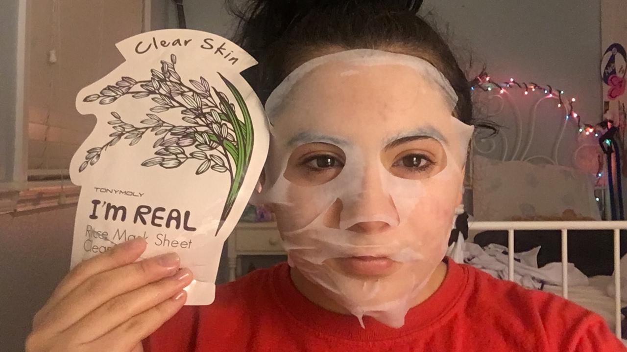 I'm Real Rice Sheet Mask by TONYMOLY #5