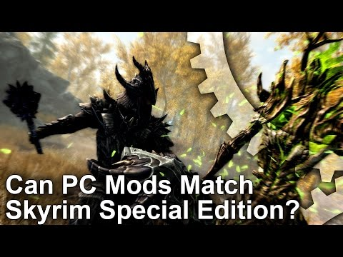 Skyrim Special Edition is a disappointment for PC gamers