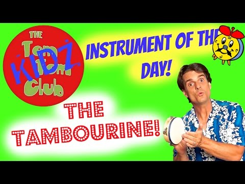 Instruments For Kids | Musically Played Tambourine for Preschoolers