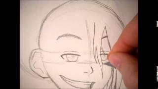 How to Draw: Toph (Avatar the Last Airbender) Step by Step