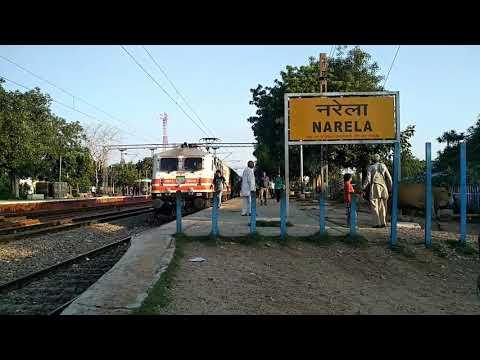 Delhi Kalka passenger at narela