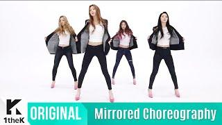 [Mirrored] Dalshabet(달샤벳) _ Someone like U(너 같은) Choreography(거울모드 안무영상)_1theK Dance Cover Contest
