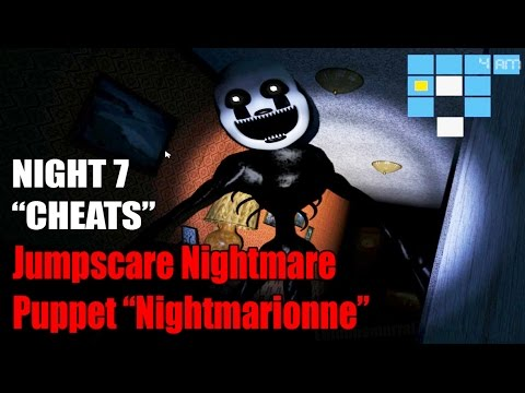 Puppet Halloween Nightmare Edition F NaF