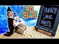 Purple & Pink Elf on the Shelf  Evil Dark Elf vs Frosty the Snowman! Day 27