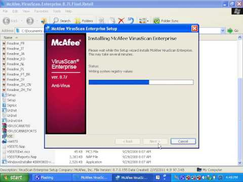 Mcafee virusscan enterprise (vse 8. 8 patch 2 and patch 3 download.